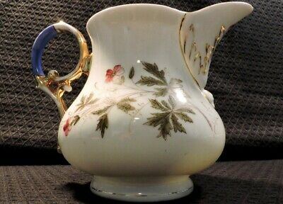 Beautiful Antique Milk Jug by Louis Löwinsohn and P. Donath of Silesia in 1800's