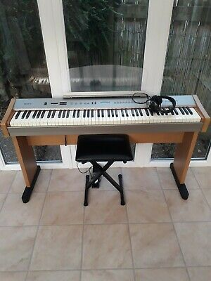 Gear4Music Digital piano   weighted keys, stool,stand ,pedal and headphones