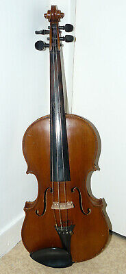 Antique french violin, ca. 1860, labelled Charles Jacquot, Paris, good condition