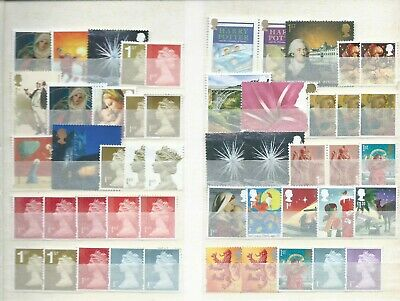 UK/GB unfranked postage stamps,no gum! 50x1st class off paper