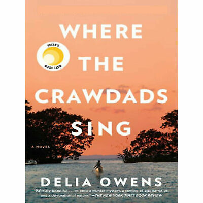 🔥Where the Crawdads Sing 2018 by Delia Owens Fast and instantly delivery🔥🔥
