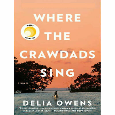 🔥Where the Crawdads Sing 2018 by Delia Owens Fast and instantly delivery O-🔥🔥