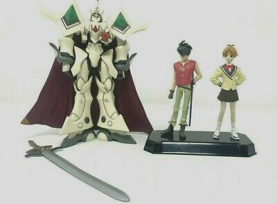 Vision of Escaflowne Bandai Action Figure Set From JAPAN