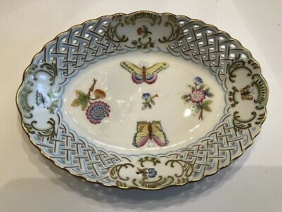 Herend Queen Vicoria Oval Dish