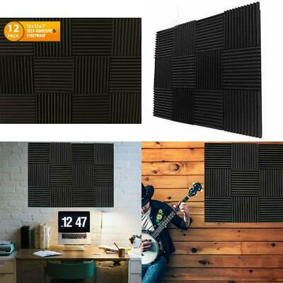 Acoustic Soundproof Foam Panel Sound Dampening Deadening Panels Self Adhesive