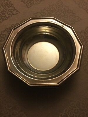 """The Sheffield Silver Co. Silver Plated """"Century"""" Bowl Made in USA"""