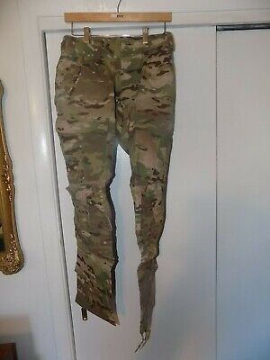 Multicam OCP Army Combat Pants w Knee Pad Slots, Flame Resistant, SMALL SHORT