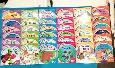 Oxford Reading Tree : Songbirds Phonics ~ 36 x Book Set Level 1-6 *FREE UK P&P*