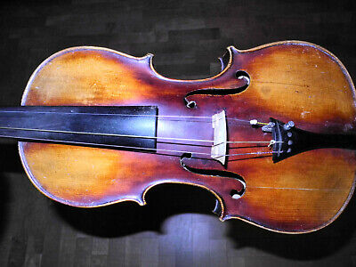 Thibout fine Old  Violin, perhaps french, label alte Geige,vieleicht franz.
