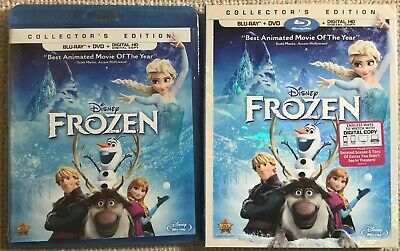NEW SEALED Frozen (Blu-ray DVD 2014 2-Discs Includes Digital Copy MINT Slipcover
