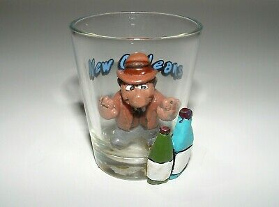 New Orleans Souvenir Decorative-Only Display Shot Glass, pre-owned