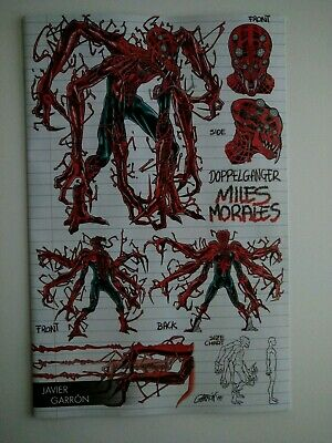 Absolute Carnage Miles Morales #1 Garron Young Guns Variant Ac Marvel 082719