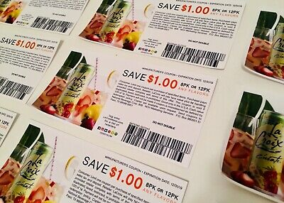 La Croix $1.00 OFF COUPON EXPIRES (12/31/19) 10 Pack of coupons