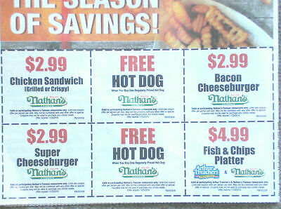 🍔🍟(3 SHEETS) ~ 18 WHITE CASTLE COUPONS Slider Combo Meal 10/31/19 ~ BEST DEAL!