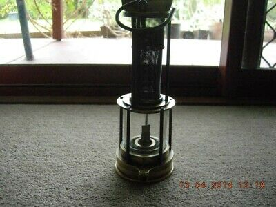 Thomas and Williams Clanny lamp. Pre 1900