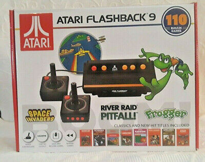 Atari Flashback 9 Game Console 110 Games Wired Joystick Controllers New NIB