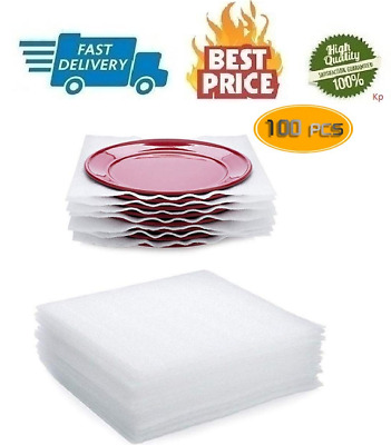 Ess Cushion Foam Sheet Safely Wrap Packing Supplies Moving Protect100 PCS 12x12
