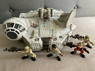 MILLENNIUM FALCON Star Wars Galactic Heroes Return Of The Jedi New FREE SHIPPING