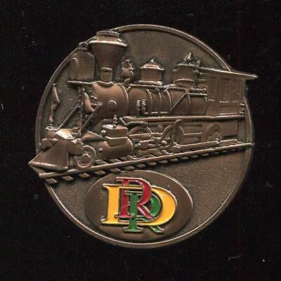 DLR Disneyland Resort Railroad Locomotive Disney Pin 116758
