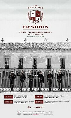 ONEUS FLY WITH US 3rd Mini Album FANSIGN