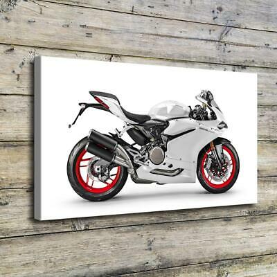 """12""""x20""""Motorcycle HD Canvas Prints Painting Home Decor Picture Wall Art Poster"""