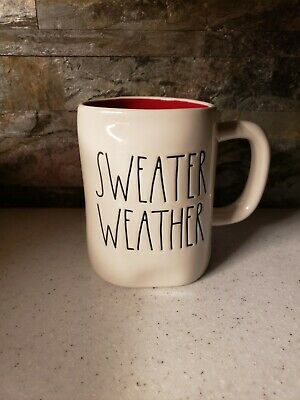 Rae Dunn Sweater Weather Mug NWT 2019 Release. Limited Edition VHTF