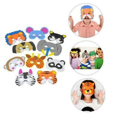 NEW EVA Foam 7 Animal Choice Mask for Kids Birthday Party Favors Dress Up Use