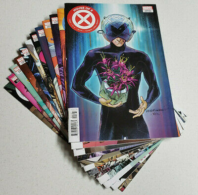 Powers of X & House of X #1-6 Full Run 12 Issue Lot (All 1st Print Variants)