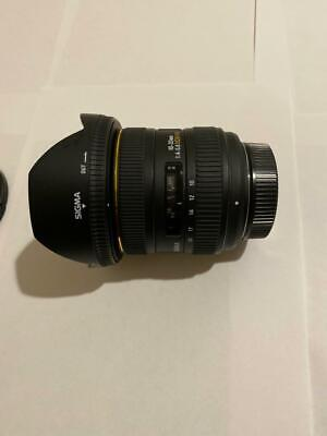 Sigma EX 10-20 mm F4-5.6 D DC HSM Lens for Nikon