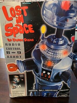 """Lost in Space classic robot b-9 radio controlled 2' Trendmasters 24"""""""