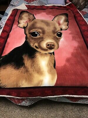 Dogs Blanket Chihuahua
