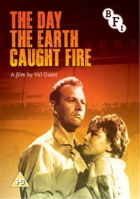 Edward Underdown, Janet Munro-Day the Earth Caught Fire DVD NEUF