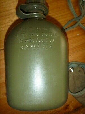US 1970 Army water bottle