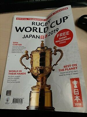 Rugby World Cup Japan 2019-Official Preview Magazine-Pools-Teams-Stats-Used