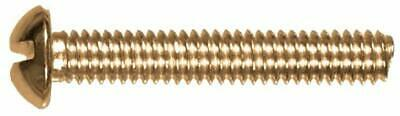 The Hillman Group 45287 10-24 x 2-1/2-Inch Round Head Slotted Machine Screw