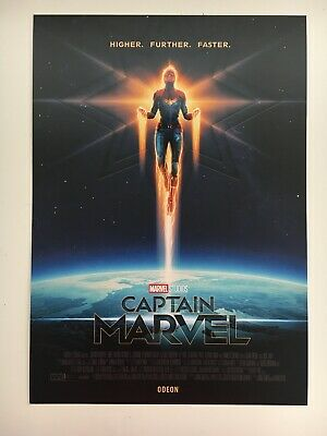 Marvel ODEON Captain Marvel Approx A4