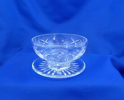 A Stuart Crystal 'Glengarry' Footed Dessert Bowl