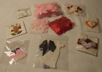 Pack Of Embellishments & Toppers Cardcraft Scrapbook Craft