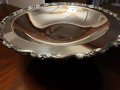 WM Rogers Silverplate Footed Bowl/Candy Dish