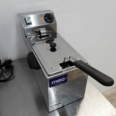 Commercial Fryer Single Table Top Chip MEC FT4