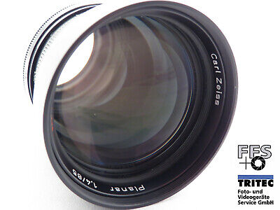 "Carl Zeiss Planar 1.4/85mm HFT ""Made in Germany"" Rollei QBM Bajonett"