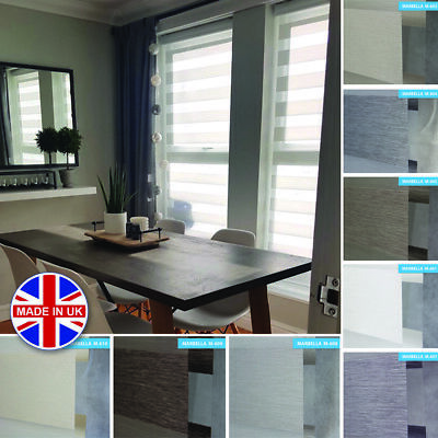 Made to Measure Day and Night Vision/Zebra Window Cassette Premium Roller Blinds