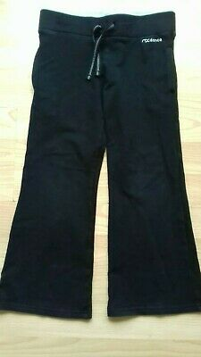 Girls Black Cotton Joggers Age 5 Years. Next.