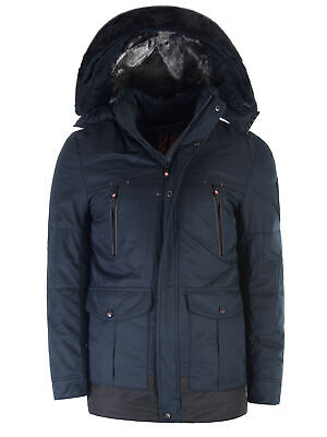 Winter Winterjacke Gefütterte Jacke Warme Key Just Herren PikXOZu