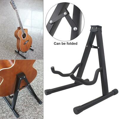 Folding Guitar Floor Stand Holder A Frame Universal For Acoustic Electric Bass