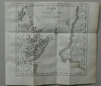 New Zealand map Capt Cook. de