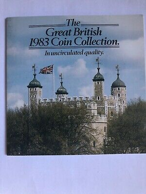 ROYAL MINT The Great British UNCIRCULATED 1983 Coin Collection plus notes etc