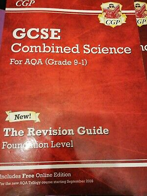 GCSE Combined Science AQA Revision Guide Foundation Level