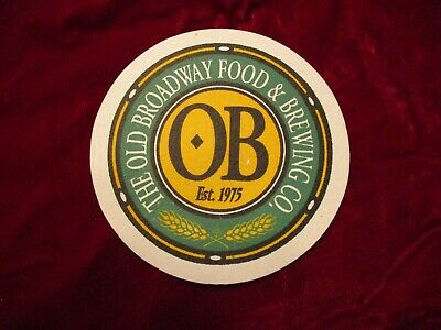 The Old Broadway Food & Brewing Co. Coaster