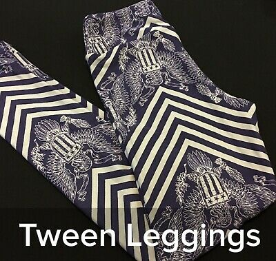 NWT-LLR Lularoe Leggings TWEEN AMERICANA KIDS CHEVRON WOMEN TEEN UNICORN